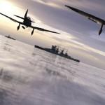 Battlefield 1942 Naval fight
