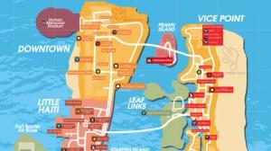 GTA Vice City Map