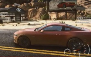 Neuer Ford Mustang NfS:R