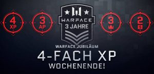 3. Jubiläum Warface