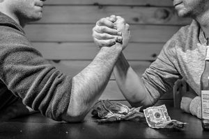 arm wrestling betting